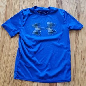 Hurley boys Tee (electric blue)